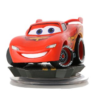 FIG: DISNEY INFINITY 1.0: LIGHTNING MCQUEEN (USED)
